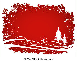 Winter background - Abstract winter background with...
