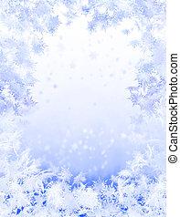 Winter background - Snowflake background