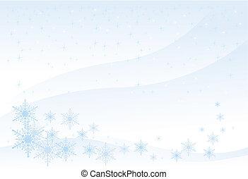 Winter Background (vector)