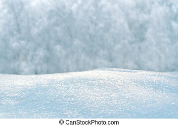 Winter background with snow-drifts