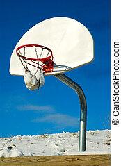 Winter Basketball Game
