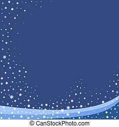 blue abstact background - Winter blue abstact background ...