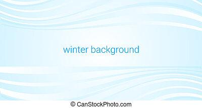 winter blue background