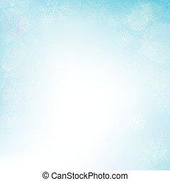 winter, bokeh, hintergrund, für, weihnachten, vektor