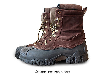 Winter Boots - a pair of warmly insulated winter boots