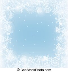 Winter border