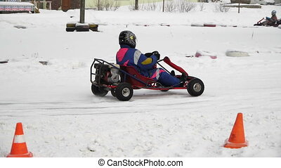 Winter carting