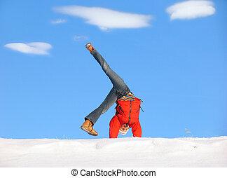 Winter Cartwheel