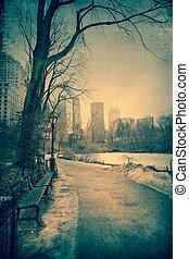 Winter Central Park