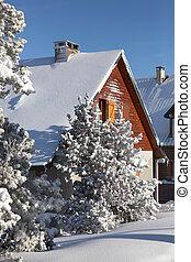 Winter chalets