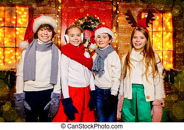 winter children clothes