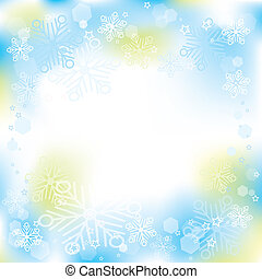 Winter christmas background, vector