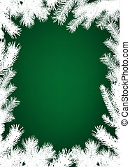 Winter christmas border background - Winter christmas border...