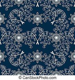 Winter Christmas seamless pattern