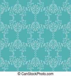 Winter Christmas seamless pattern.