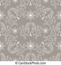 Winter Christmas seamless pattern.