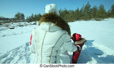 Winter circle dance