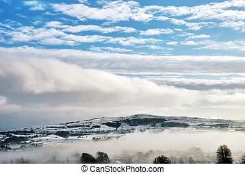 Winter Cloud And Mist