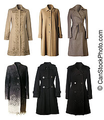 Winter coats - Six woman winter coats