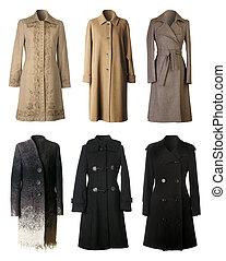 Winter coats - Six woman winter coats