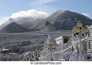 Winter day on Caucasus.