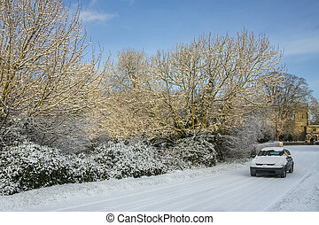 Winter Driving - North Yorkshire - England - Winter driving ...