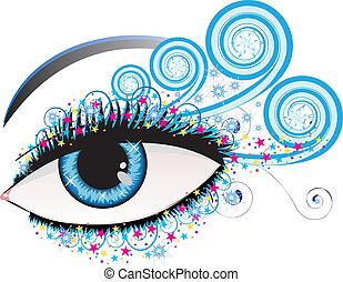 Winter eye