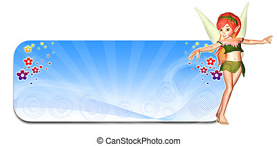 Winter Fairy Header/Banner