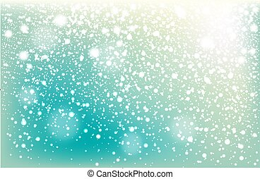 Winter falling snow background