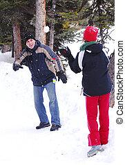 Winter family fun