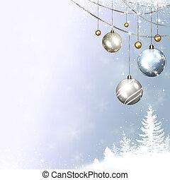 winter, feestdagen