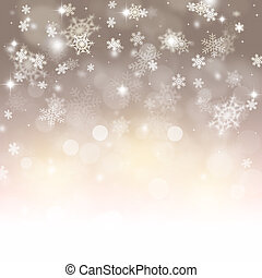 winter, feestdagen, sneeuw