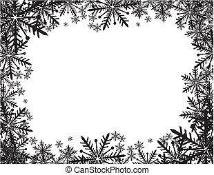 winter, frame