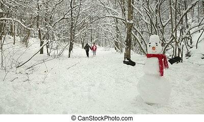 Winter Fun In Snow