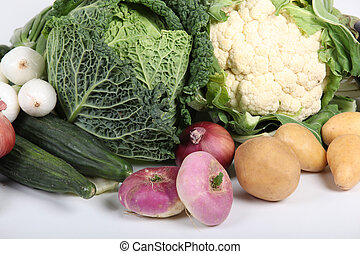 winter, groentes