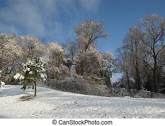 winter hügel
