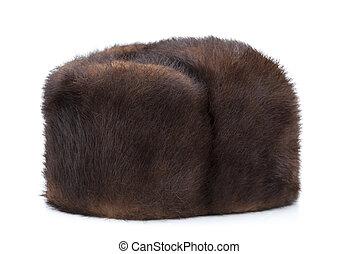 Winter hat Mink