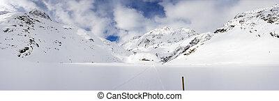 Winter High Valley, Austria