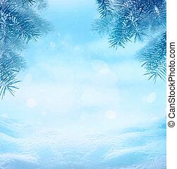 winter, hintergrund