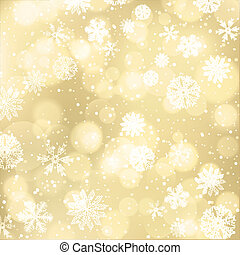 Winter Holiday Bright Background With Snowflakes