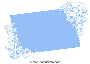 winter holiday card - winter holiday frame for your...