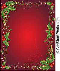 Winter Holiday - Christmas vectorl illustration. All...