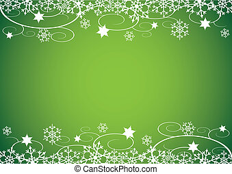 Winter Holidays Bg Decorative Christmas Illustration With