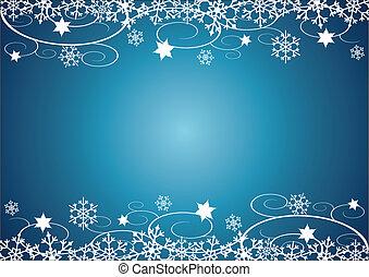 Winter Holidays Bg Decorative Christmas Illustration With