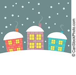 Winter houses