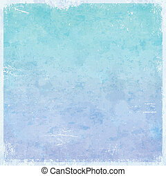 Winter ice themed grungy background
