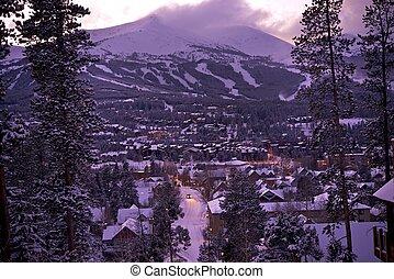 Winter in Breckenridge