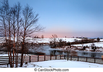 Winter in Central Kentucky