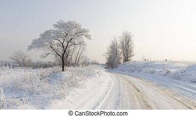 Winter in Moscow Region
