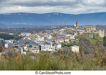 Winter in Puebla de Sanabria, Castilla y Leon, Spain - Long...